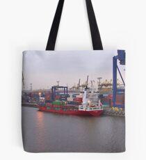 Containerschiff BF Victoria Tasche
