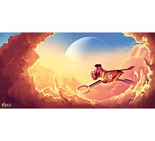 Ride over the clouds Photographic Print