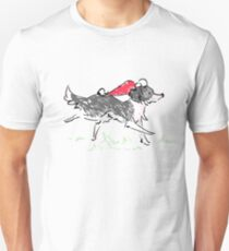 Christmas Collie Unisex T-Shirt