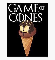 GAME OF CONES Photographic Print