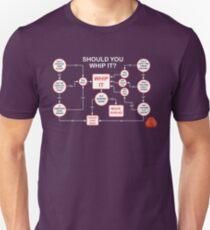 Devo Whip It flowchart Unisex T-Shirt