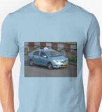 blue bird taxi T-Shirt