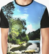 At the river Ammer Graphic T-Shirt