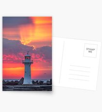 The Morning Light Show Postcards