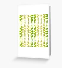 Abstract Halftone Background Greeting Card