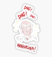 Breaking Bad - Ding Ding Motherfucker Sticker