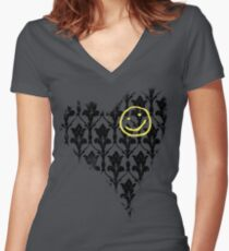 Sherlockian Women's Fitted V-Neck T-Shirt