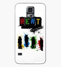 MIETEN Musical Paint Splash Hülle & Klebefolie für Samsung Galaxy