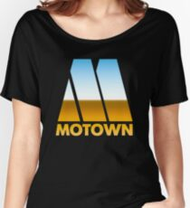 MOTOWN DISCO RECORDS (MIRROR 80s) Women's Relaxed Fit T-Shirt