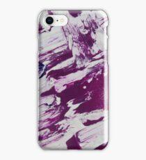 Violet Marbled iPhone Case/Skin