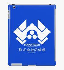 NAKATOMI PLAZA - DIE HARD BRUCE WILLIS (WHITE) iPad Case/Skin