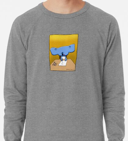 Cute Koala Drawing Illustration Lightweight Sweatshirt
