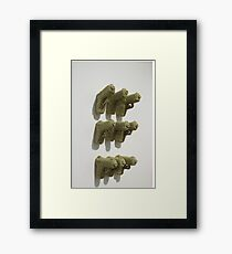 Quilted Firearms  Framed Print