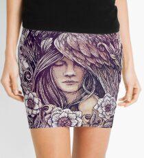 Crow Mini Skirt