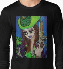 Poppet Pirate at Chameleon Cove Long Sleeve T-Shirt