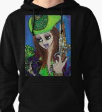 Poppet Pirate at Chameleon Cove Pullover Hoodie