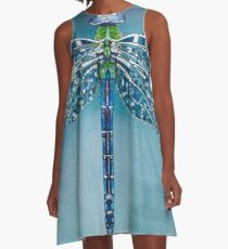 Dragonfly A-Line Dress