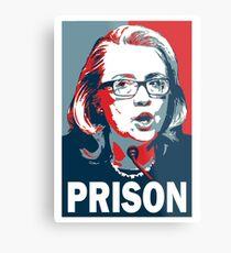 Hillary For Prison Metal Print