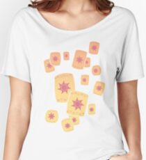 Floating Lanterns Gleam Women's Relaxed Fit T-Shirt