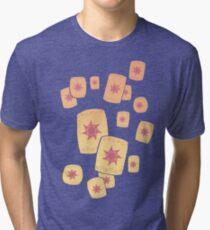 Floating Lanterns Gleam Tri-blend T-Shirt