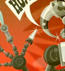 Bladebot! Sticker