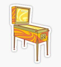 Pinball machine Sticker
