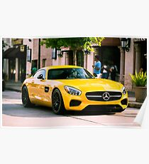Mercedes  Benz AMG GT-S Poster