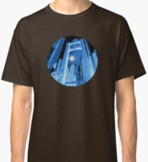 Cobalt Skyscrapers Classic T-Shirt
