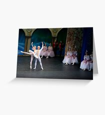 A scene from Nutcracker, performed by the Monica Loughman Ballet, Wexford Opera House Greeting Card