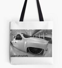 chevy silverado bagged Tote Bag