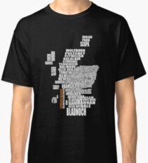 Springbank Map Classic T-Shirt