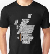 Springbank Map Unisex T-Shirt