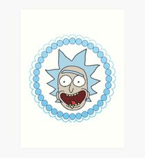 Circle Jerk Rick Sanchez Art Print