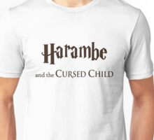 Harambe And The Cursed Child Unisex T-Shirt