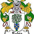 Rubio Coat of Arms/ Rubio Family Crest by William Martin