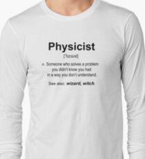 Physiker Langarmshirt