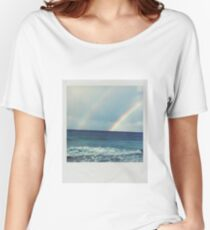 Double Rainbow Polaroid Women's Relaxed Fit T-Shirt