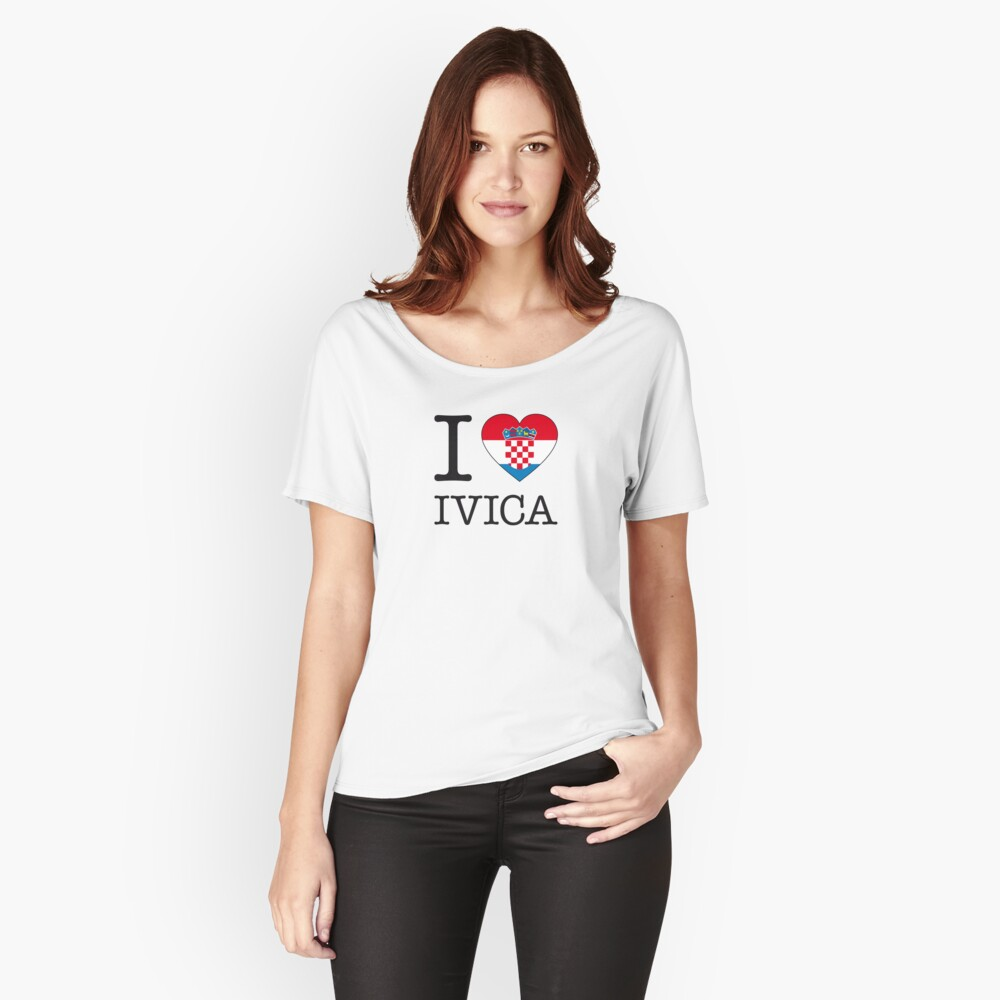 I ♥ IVICA Women's Relaxed Fit T-Shirt Front