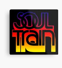 SOUL TRAIN (SUNSET) Metal Print