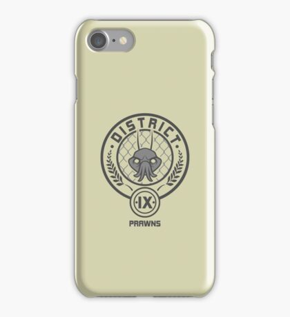 Prawn District (HG Parody) iPhone Case/Skin