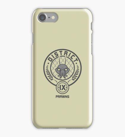 Prawn District (HG Parody) iPhone Case/Skin