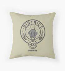 Prawn District (HG Parody) Throw Pillow