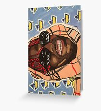 Lil Yachty Greeting Card