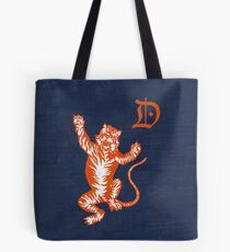 Original Detroit Tigers Logo (Unofficial) Tote Bag