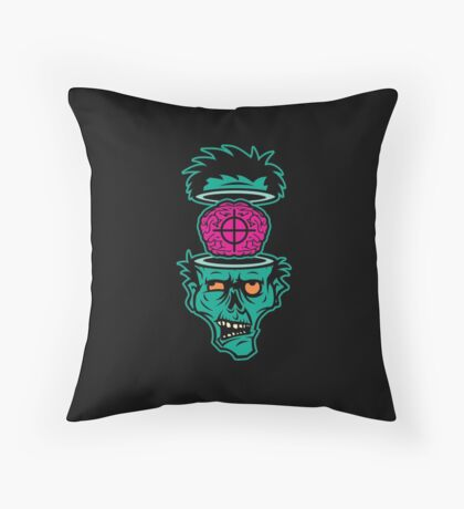 Shoot 'em in da Head Bro! Throw Pillow