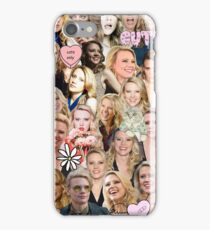 Kate McKinnon collage iPhone Case/Skin