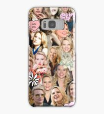 Kate McKinnon collage Samsung Galaxy Case/Skin