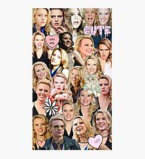 Kate McKinnon collage Photographic Print