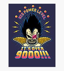 Over 9000! Photographic Print