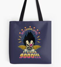Over 9000! Tote Bag